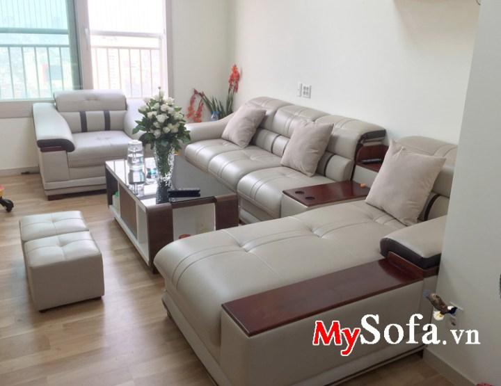 Bộ ghế sofa phòng khách đẹp sang trọng