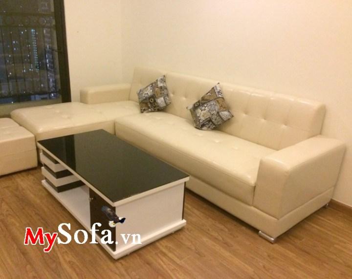 Sofa góc chữ L kích thước nhỏ gọn