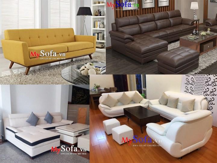 Sofa phòng khách theo phong thủy người mệnh Kim