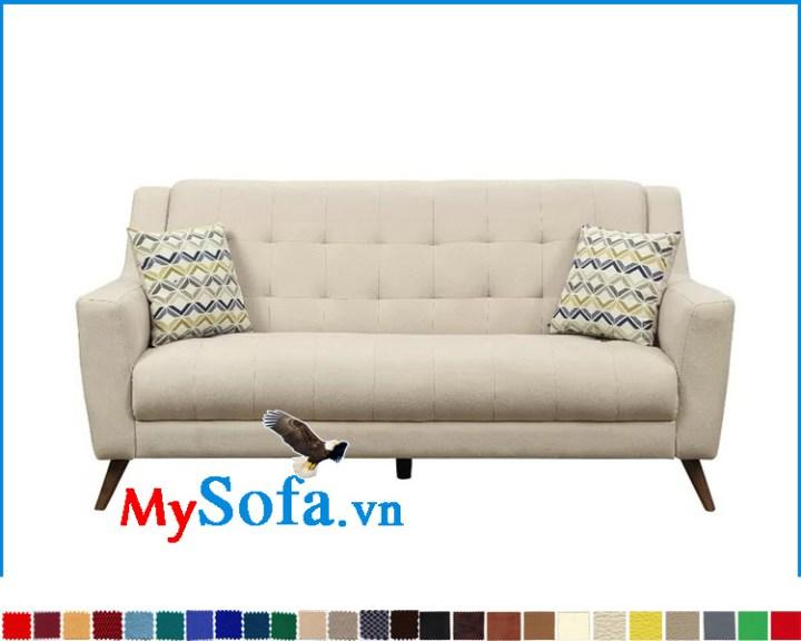Ghế sofa đơn dài 2 chỗ ngồi đẹp giá rẻ