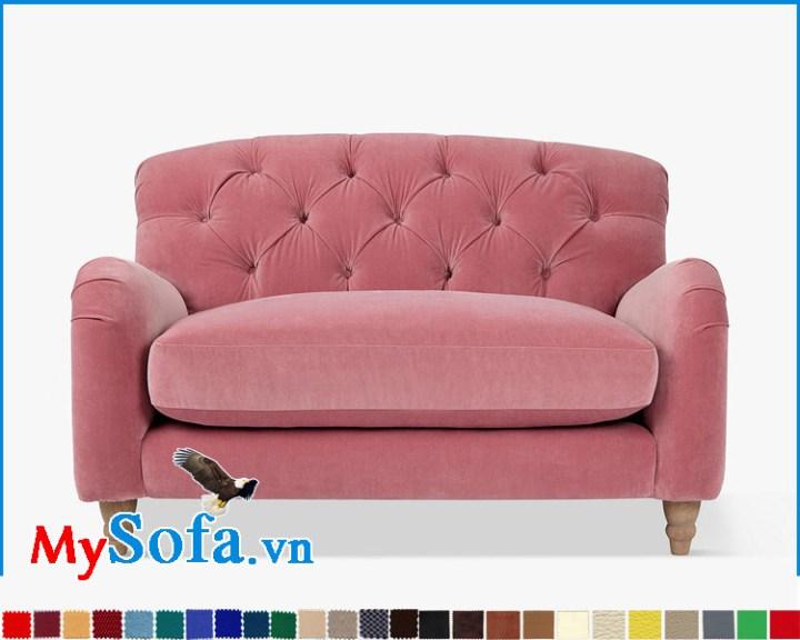 ghế sofa đơn đẹp kê phòng ngủ nữ giới