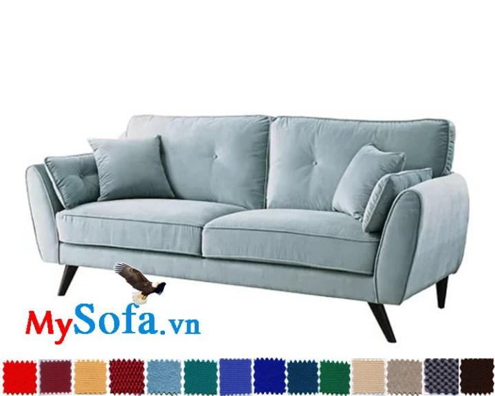 sofa nỉ văng đẹp giá rẻ hiện đại