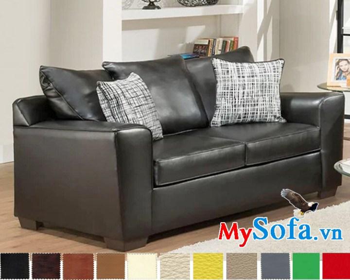 sofa da dạng văng đẹp hiện đại