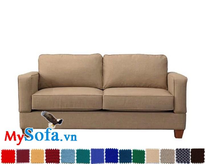 sofa văng nỉ đẹp đơn giản cho phòng khách