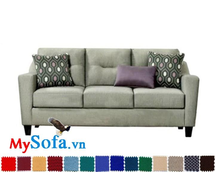 ghế sofa nỉ văng 3 chỗ đẹp bán chạy