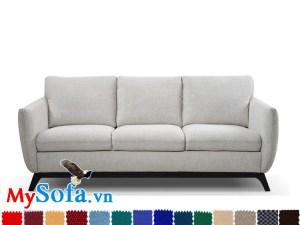 sofa văng 3 chỗ ngồi MyS 0619004 có chất liệu vải cao cấp, thoáng mát và mềm mại