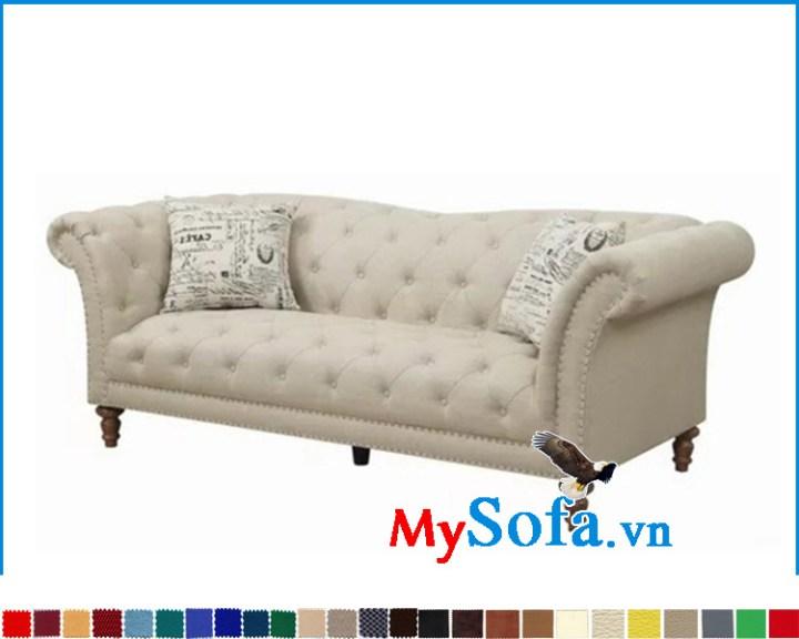 sofa đẹp dạng ghế băng dài