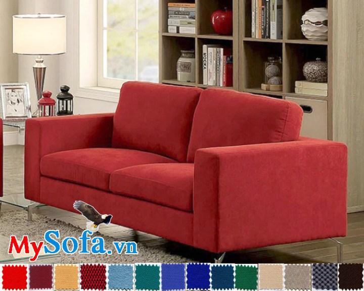 MyS 0619089 sở hữu lớp nỉ nhung cũng sắc đỏ rực rỡ ấn tượng