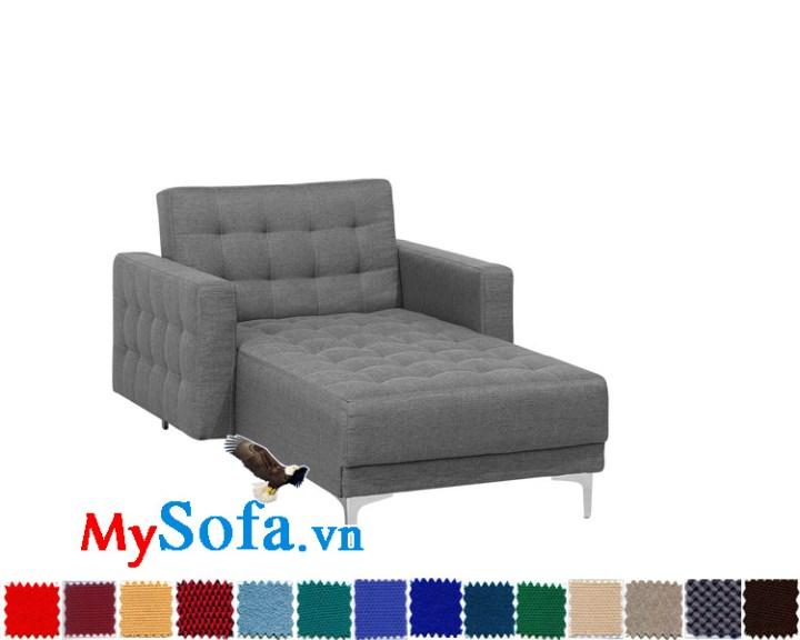 Ghế sofa giường chất nỉ đẹp hiện đại giá rẻ
