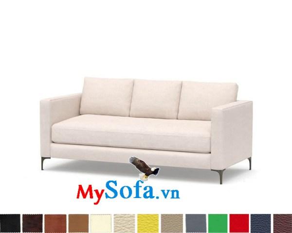 Ghế sofa nỉ dạng văng hiện đại và trẻ trung Mys-0619406