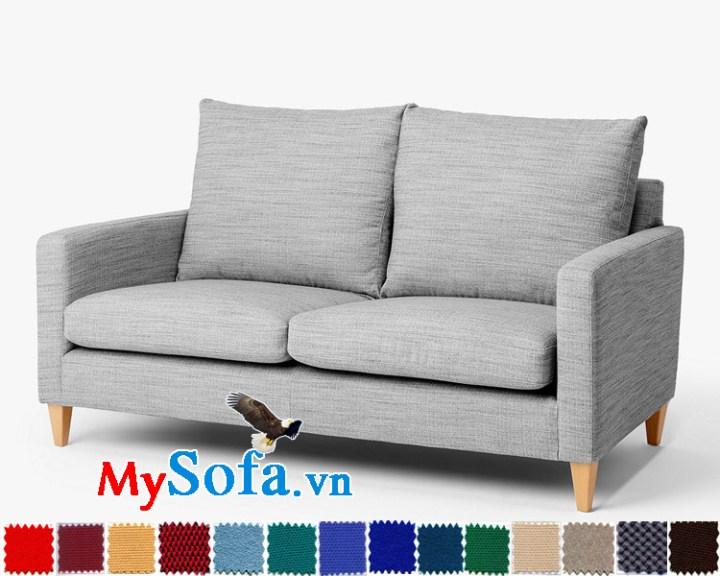 Ghế sofa nỉ thô đẹp cho phòng khách nhỏ sang trọng