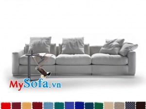 Ghế sofa văng chất nỉ đẹp giá rẻ
