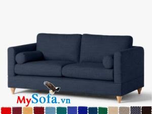 Ghế sofa văng chất vải nỉ đẹp cho không gian nhỏ hẹp