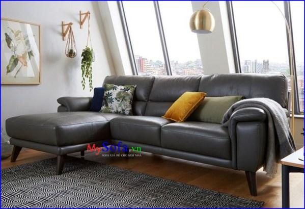 Ghế Sofa da cao cấp cho nhà chung cư AmiA SFD248
