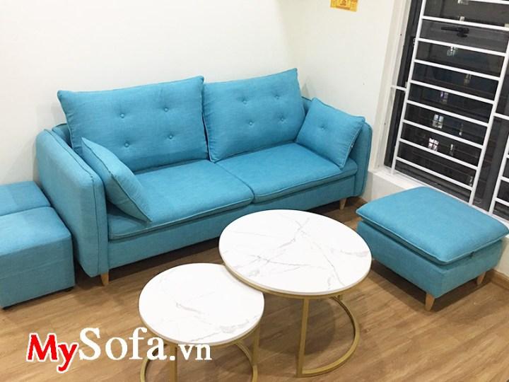 Sofa nhỏ mini cho phòng khách chung cư