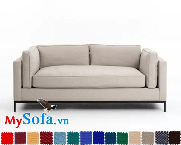 sofa da giá rẻ mys 0619223 màu sắc tinh tế