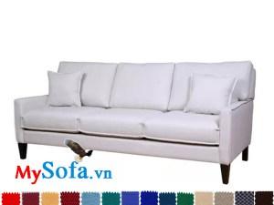 hình ảnh sofa văng 3 chỗ ngồi mys 0619334 màu sắc tinh tế