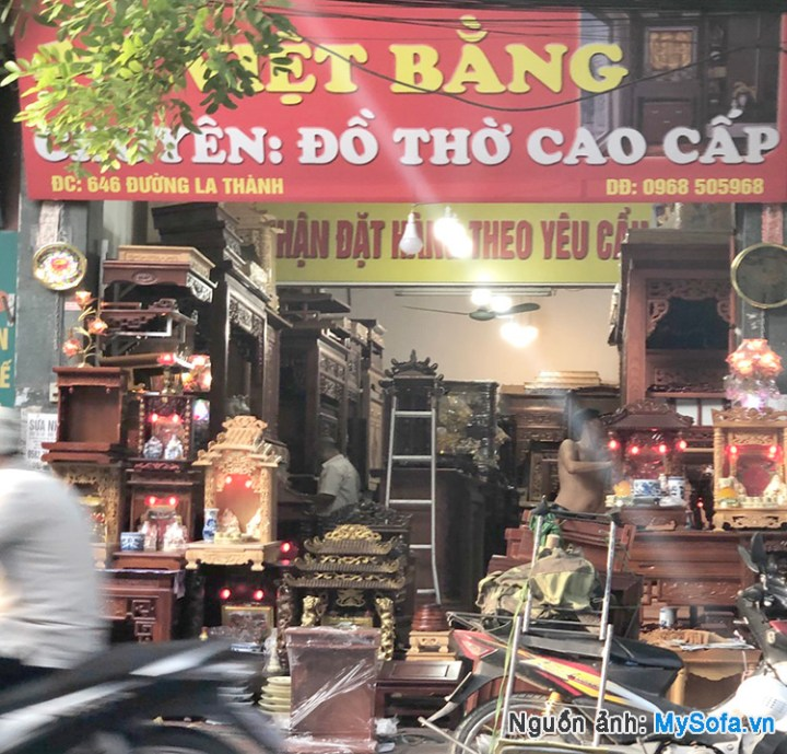 cửa hàng chuyên đồ thờ Việt Bằng 646 đường La Thành
