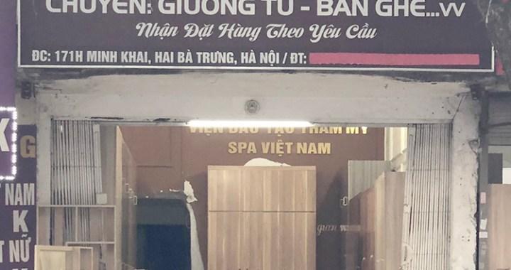 cửa hàng nội thất gia đình Bảo Lâm 171H Minh Khai