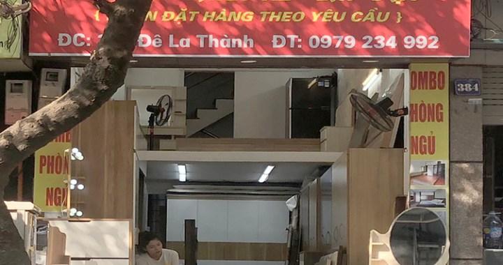 Cửa hàng nội thất gia đình Cảnh Thúy 386 Đê La Thành
