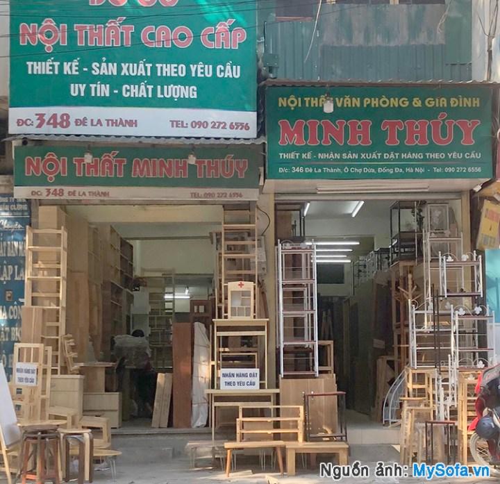 cửa hàng nội thất Minh Thúy 348 Đê La Thành
