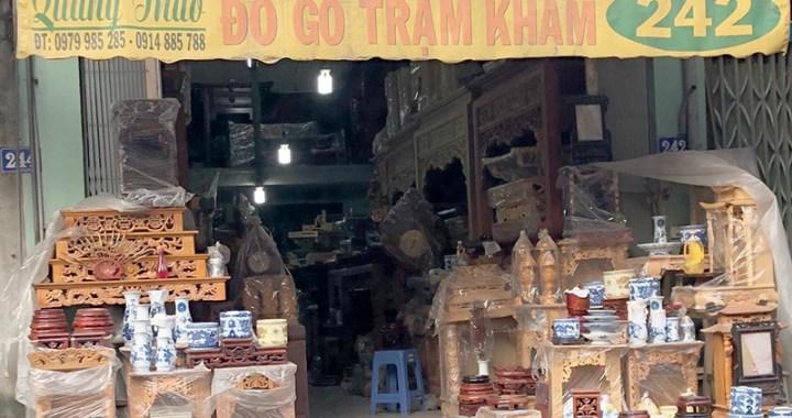 cửa hàng chuyên đồ thờ Quang Thảo 242 Đại Mỗ