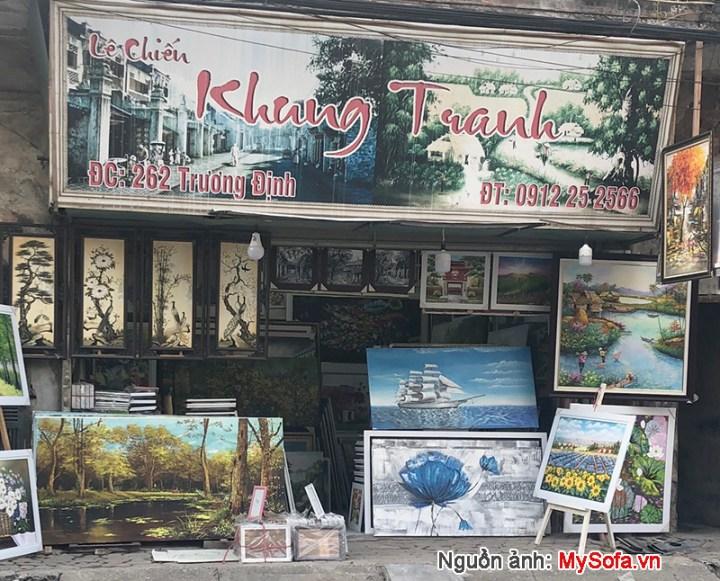 Cửa hàng tranh -khung tranh Lê Chiến 262 Trương Định