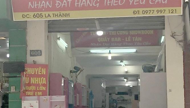 Cửa hàng nội thất Thiện Hoa 605 Đê La Thành