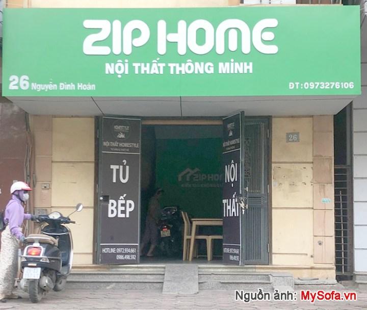 cửa hàng nội thất Zip Home 26 Nguyễn Đình Hoàn