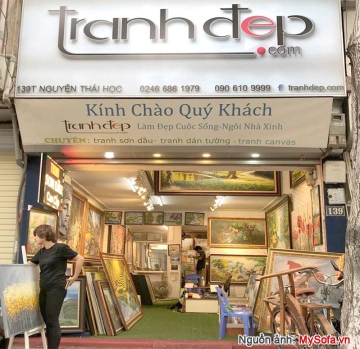 Cửa hàng Tranh đẹp 139T Nguyễn Thái Học