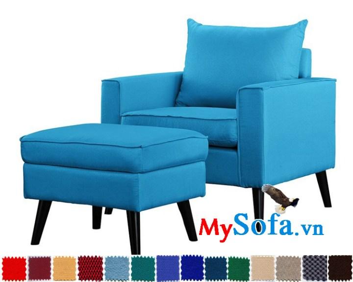 ghế sofa đơn chất liệu nỉ đẹp MyS-1910810