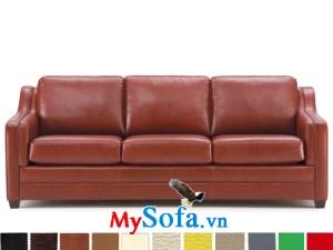Sofa văng chất liệu da cho phòng khách nhỏ MyS-1910838