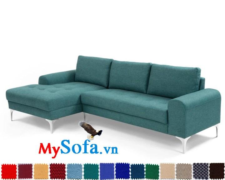 ghế sofa nỉ góc chữ L đẹp hiện đại MyS-1910662