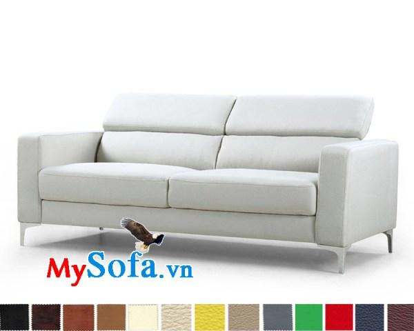 Ghế sofa văng đẹp với tựa lưng gật gù MyS-1910669