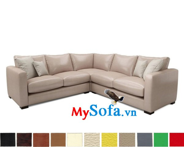 Mẫu ghế sofa góc chữ V đẹp MyS-1911920
