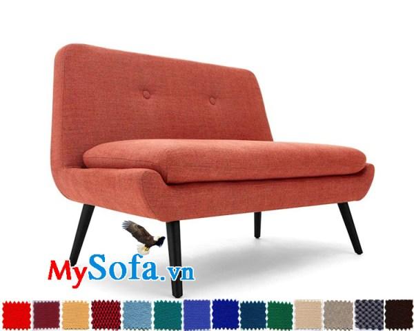 sofa đơn không tay vịn thanh lịch MyS-1910626