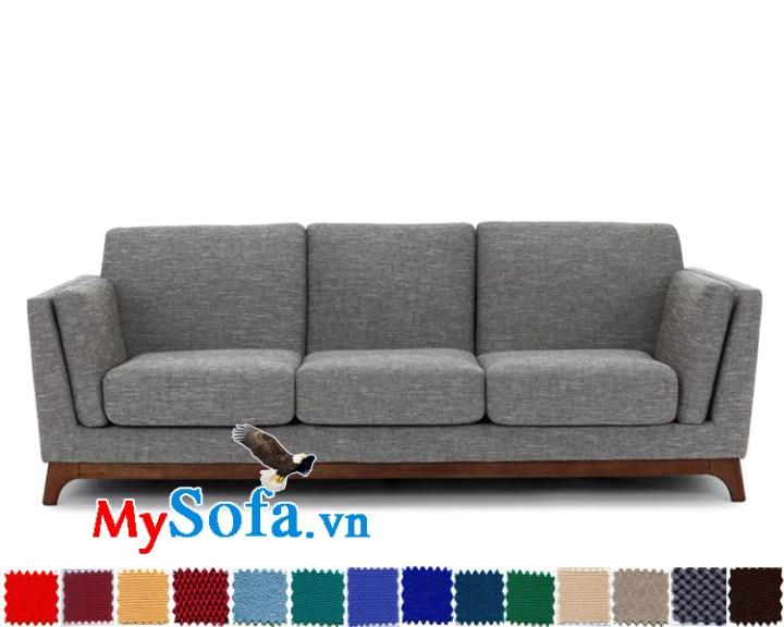 sofa văng 3 chỗ chất nỉ giá rẻ MyS-1911579