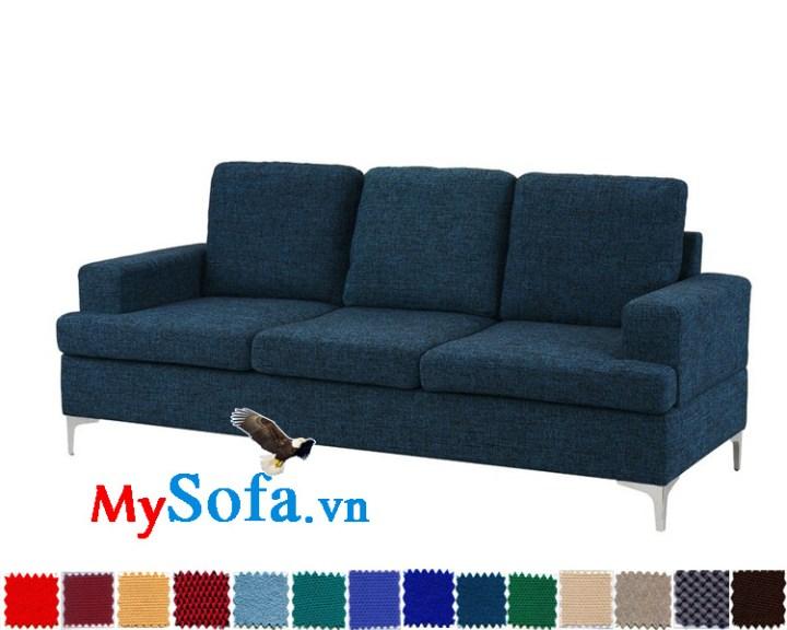 sofa văng chất nỉ 3 chỗ ngồi cực sang MyS-1910695