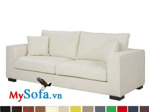 Sofa văng chất nỉ cho phòng khách tiện nghi MyS-1910698