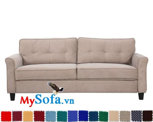 sofa văng chất nỉ đẹp hiện đại MyS-1910679