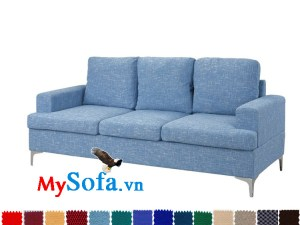 sofa văng chất nỉ màu sắc tươi trẻ MyS-1910696