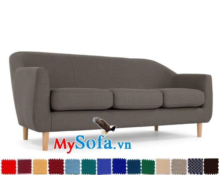 sofa văng đẹp với chân gỗ thanh mảnh MyS-1910641