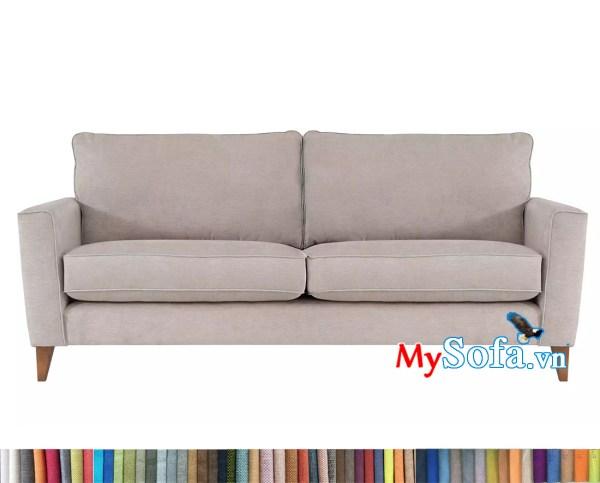 sofa văng màu kem hiện đại MyS-1911655