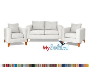 bộ ghế sofa nỉ đẹp kê phòng khách hiện đại MyS-1912449
