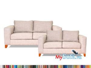 Bộ sofa nỉ MyS-1912452 kê phòng khách hiện đại