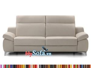 Ghế sofa da màu trắng MyS-1912384