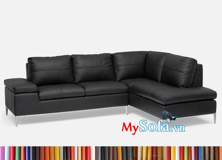 Hình ảnh mẫu ghế sofa da