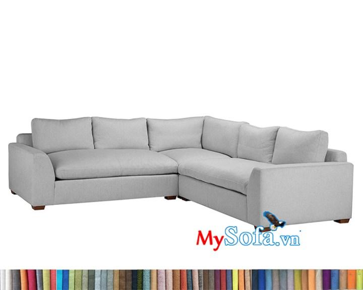 MyS-1912115 mẫu sofa nỉ góc chữ L