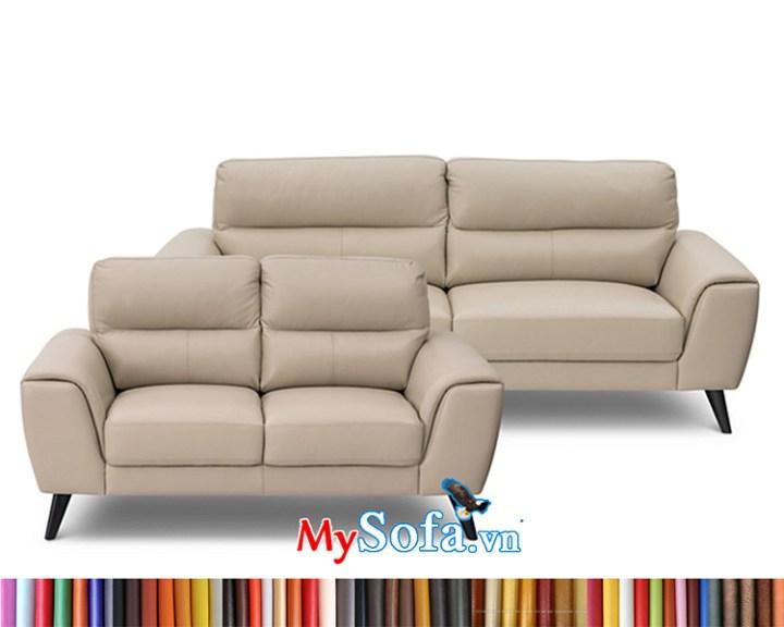 MyS-1912171 bộ ghế sofa văng da cao cấp