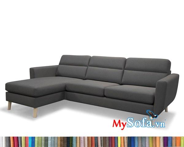 MyS-1912219 mẫu ghế sofa nỉ góc